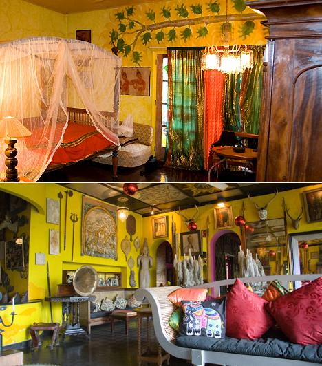 Helga's Folly, Sri LankaA Sri Lankán található kandy-i hotel inkább egyfajta életstílus megtestesítője, mintsem szálláshely turistáknak. A negyvenszobás, 1930-as években létrehozott hotelt a meghitt hangulat, a buddhista relikviák, az ősi szobrok, a falfestmények, a sajátos dekoráció, nem utolsósorban pedig a mindezt megfűszerező és halkan búgó 1930-as évekbeli jazz-zene teszi igazán különlegessé.