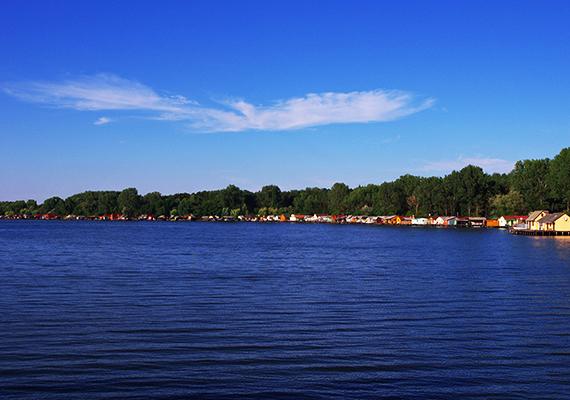 Az Által-ér eredeti medre körülbelül a tó közepén húzódik. A tó érdekessége, hogy télen sem fagy be az erőmű által termelt hulladékhő miatt.