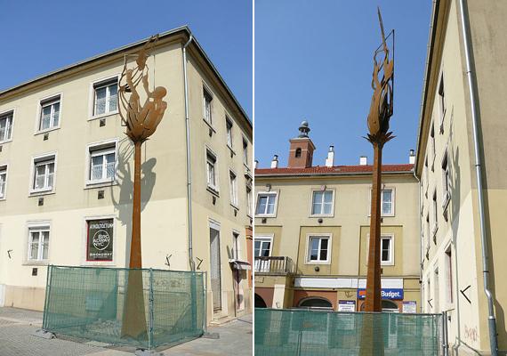Azonban nem a Faunok az egyetlen, ami nem nyerte el a városban lakók tetszését. Az újonnan felállított, rézből készült Szent Márton-szobor rengeteg pénzbe került, és meglehetősen csúnyának tartják.