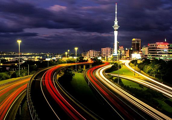 A harmadik helyen végzett Auckland, a csodás Új-Zéland egyik legjelentősebb városa.