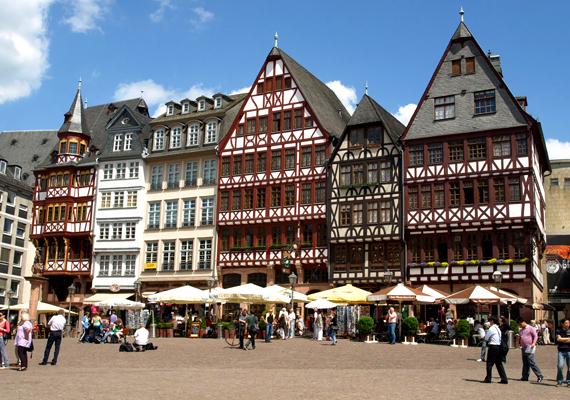Frankfurt Németország ötödik legnagyobb városa. A listán hetedik lett.