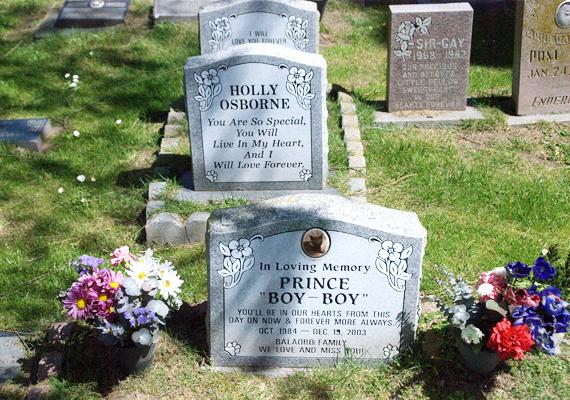 Nemcsak az embereknek állítanak itt síremléket, de a házi kedvenceknek is.
