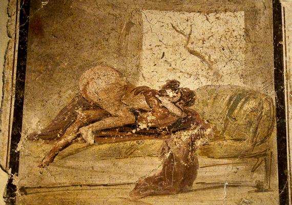 Ezeket azonban a régészek titkolták, pornográfiának nyilvánították, és 1819-ben elzárták a nagyközönség elől.