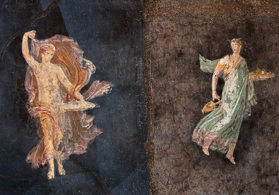 A múzeum főként az eltemetett Herculaneum és Pompej területéről tudhat magáénak hatalmas gyűjteményt.