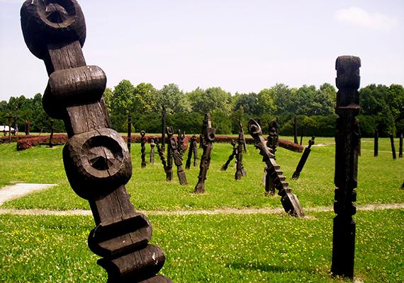 A Mohácsi Történelmi Emlékhely is hasonló célból emeltetett, 1976-ban, az 1526. augusztus 29-i csatavesztés 450. évfordulóra alakították ki. A valószínűleg Kölked, Udvar, Majs és Sátorhely közötti síkságon lezajlott csata során a török túlerő történelmi jelentőségű vereséget mért a magyar seregre - utóbbi áldozatokra 120 jelképes kopjafa és sírhely emlékezik, a tömegsírokat pedig amfiteátrum-szerűen emelkedő sétányok veszik körül.