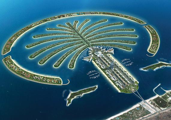 A pálmafát formázó Palm Jumeirah egyike a mesterséges szigeteknek, melyeket a helyiek nem kedvelnek, amellett ugyanis, hogy nagyzolásnak tartják, állítólag a tengeri ökoszisztémának sem tett jót megépítése. Ez a csoport a három pálma közül a legkisebb, kizárólag szállodáknak és luxusvilláknak tartják fenn.