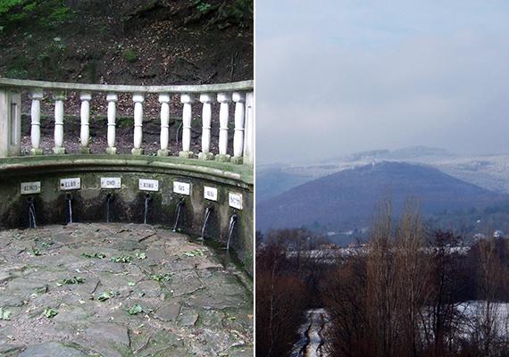 Az Alpokalja területén is nagyobb valószínűséggel várható hó már novemberben, de nemcsak emiatt érdemes idelátogatni, túraútvonalai egész évben számos látnivalóval várják a kirándulókat. A képeken a Hétvezér-forrás vagy Hétforrás, illetve az annak otthont adó Kőszegi-hegység látható télen - a második képen középen a Szent Vid-templom látszik.