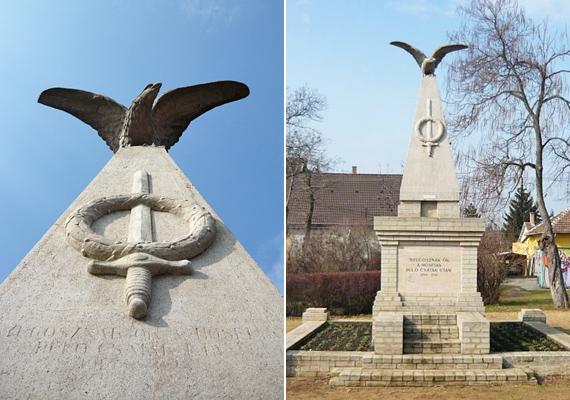 Az első és második világháború áldozatainak általában még a legkisebb magyar falvakban is emlékmű őrzi a nevét. A képen látható is egy közülük: a Hősök szobrát az első világháború hősi halottainak emlékére állították fel 1925-ben Rákosligeten.