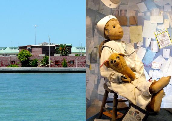 Kísérteties bábut őriz az amerikai egyesült államokbeli, floridai Key Westben található Fort East Martello Museum is. Ő Robert, az elátkozott baba, melyet egykori gazdájának, egy kisfiúnak állítólag egy vudu mágiával közelebbi kapcsolatban álló szolga adott.