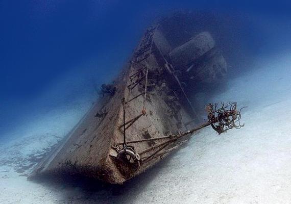 A 356-os Fregatt Kuba partjaitól 150 mérföldre süllyedt el, majd a tengerben két részre szakadt. A szovjetek építették az 1980-as években.
