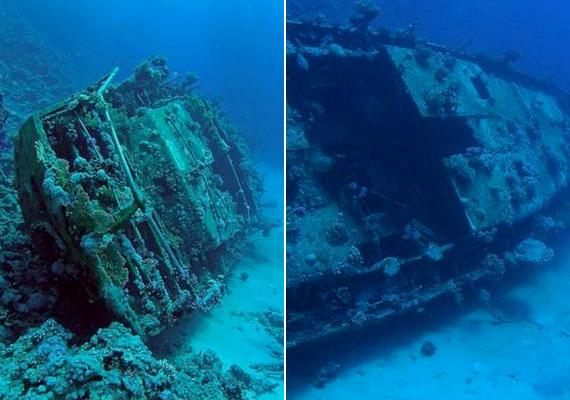 Szintén kísértethajóként ismert a Névtelen Jacht, mely Vörös-tenger Abu Galawa Shiwayya nevű zátonyánál süllyedt el.