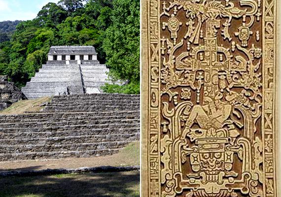 A Mexikóban található maja romvárost, Palenque-et sokan előszeretettel nevezik a földönkívüliek városának is, köszönhetően annak, hogy a város felvirágoztatásáért felelős Pacal király sírján olyan ábrázolást találtak, amelyre nehezen lehet magyarázatot találni, rendkívüli módon hasonlít ugyanis egy pilótára, illetve űrjárművet irányító asztronautára. Vannak, akik úgy vélik, a király maga is ősi idegen volt, ami a jelentős fejlődést tekintve bele is illik a paleoasztronautika elméletébe.