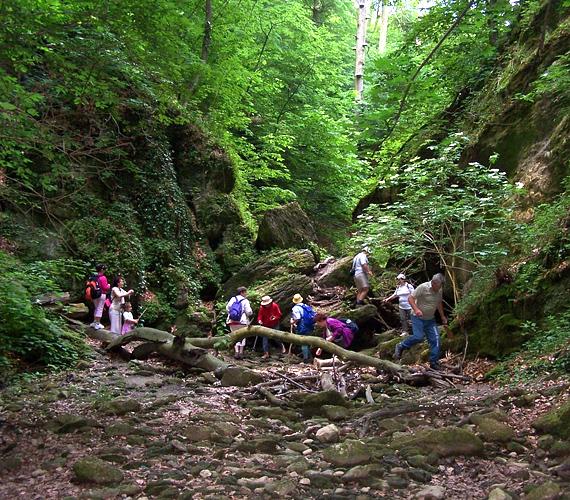 A túraútvonalról letérni elég veszélyes, a kövekkel és sziklákkal borított részeken könnyen megsérülhetsz.
