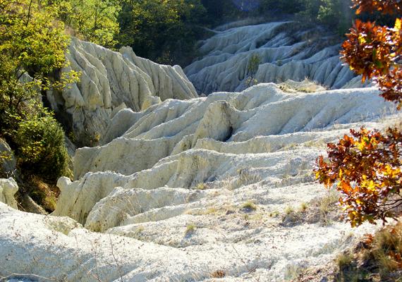 Salgótarján térségében található Kazár község, illetve az egyedülálló geológiai csodának számító kazári riolittufa. A települést körülvevő, körülbelül 20 millió éves riolittufa dombok a Mátra vulkáni kitöréseiből épültek fel, később azonban az erózió formálta holdbélivé a sziklás tájat. A világon igen kevés helyen található hasonló képződmény - ha még több képet néznél meg róla, kattints ide!