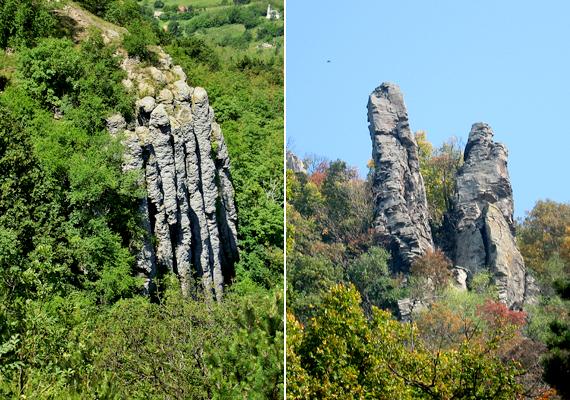 A Balaton-felvidéki, badacsonyi, Szent György-hegyi bazaltorgonákra nincs, aki ne csodálkozna rá. Szintén vulkáni tevékenység hozta létre őket.