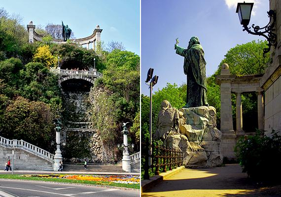 A hegy névadója Szent Gellért püspök volt, akit 1046-ban a Vata-féle pogánylázadás résztvevői innen löktek a mélybe. Ma vértanúsága helyszínéről néz le a városra szobra és emlékműve.