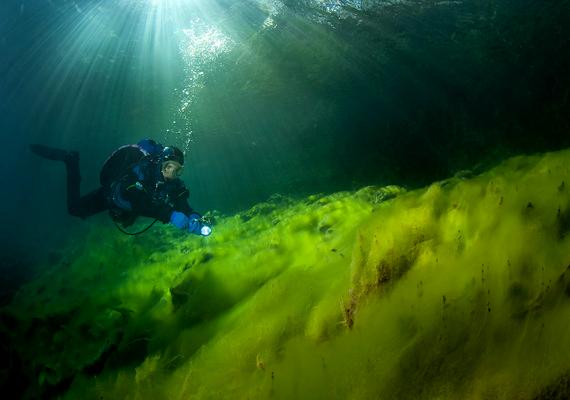 Mindemellett azt is sejteni vélik a kutatók, hogy a tó alján világháborús nyomokat is találhatnának.
