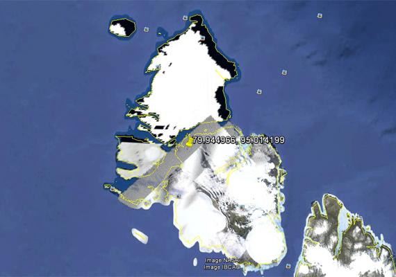 Spekulációra ad okot, hogy vajon miért takarták ki Oroszország Északi-sarkhoz tartozó részét, ha ez a terület elméletben lakatlan?