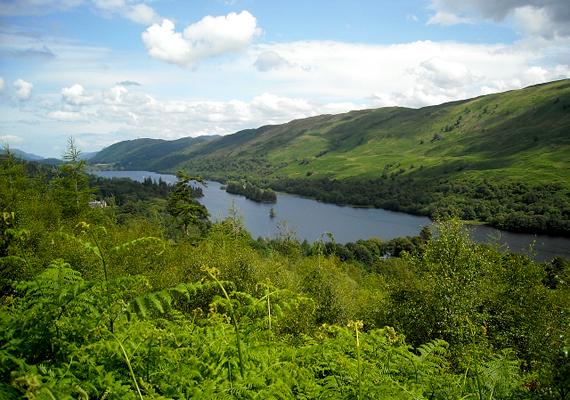 Nem kevésbé szép a Loch Oich sem.