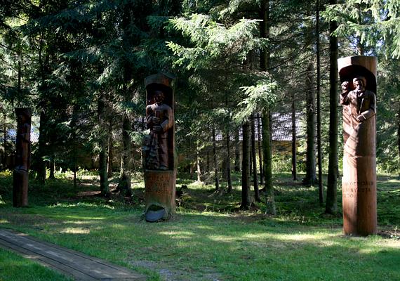 A Grütas Park a köznyelvben Sztálin világaként is ismert. A Vilniustól 130 kilométerre délnyugatra található parkot 2001-be hozták létre.