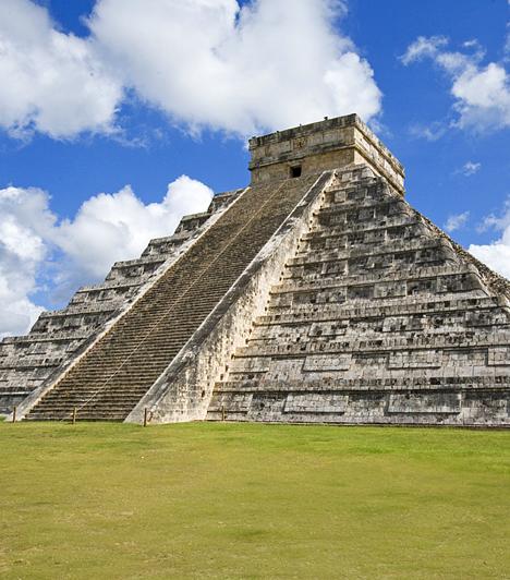 Chichen Itza, MexikóAz ősi piramisairól és gyógyító vizéről ismert Chichen Itza a mexikói Yucatán-félszigeten található. A víz mellett az itt fellelhető, a föld energiáját magába szívó kövekből és kvarcokból is energiát nyerhetsz. A helyiek ezeket az ideutazók számára nyújtott regeneráló és méregtelenítő kezelések során alkalmazzák.
