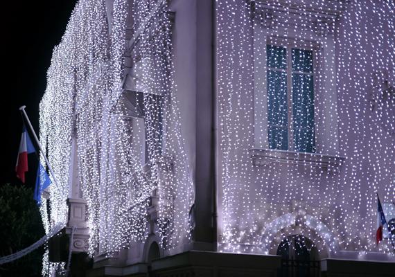 Advent és karácsony idején Monte Carlo is ünnepi köntösbe öltözik. A nagy felbontású képért kattints ide!