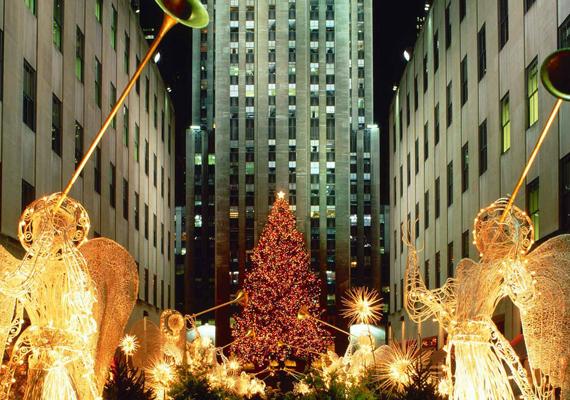 New York az ünnepek idején mindig valami nagyszabásút alkot. A nagy felbontású képért kattints ide!