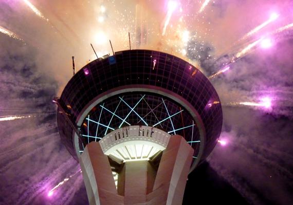 Las Vegasban megadják a módját a szilveszternek. A nagy felbontású képért kattints ide!