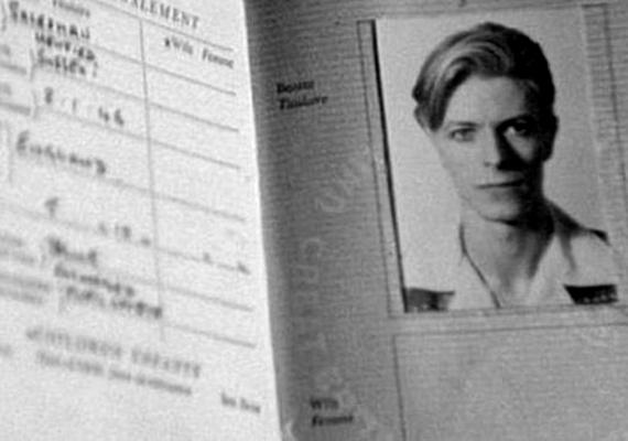 Nem úgy, mint David Bowie-t.
