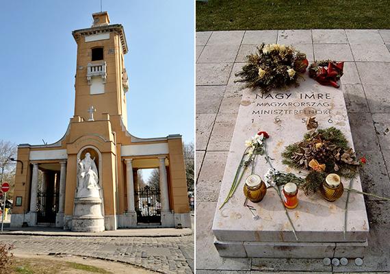 A temető legtávolabbi részén található a megrázó emlékeket őrző 301-es parcella Nagy Imre és társai, valamint az 1956-os forradalom és az azt követő megtorlások áldozatainak sírjaival.