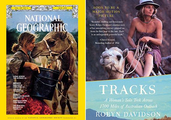 Cheryl Strayed útját gyakran vonják párhuzamba Robyn Davidsonéval, aki szintén egyedül vágott neki a vadonnak, legalábbis ami emberi kísérőit illeti, kutyája és négy teve ugyanis vele tartott. Robyn 1975-ben érkezett meg az ausztráliai Alice Springsbe, hogy tevékkel dolgozzon, felkészítse őket, illetve önmagát is arra, hogy innen elindulva egészen a nyugati partig nomádként szelje át az ausztrál sivatagot. A fiatal nő 1977-ben indult útnak, és kilenc hónapon át gyalogolt, miközben 2700 kilométert tett meg.