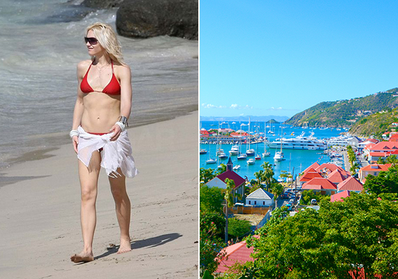 Gwen Stefani a sztárok egyik kedvelt nyaralóhelyét, a Karib-tengeren található Saint-Barthélemy szigetét választotta. Cikkünk a Theblondesalad.com összeállítása alapján készült, ha kíváncsi vagy a teljes listára, kattints ide!