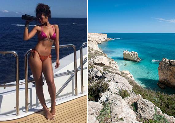 Rihanna a földközi-tengeri pihenést és a napsütötte Szicíliát választotta nyaralása helyszínéül, vélhetően azonban nem ez az egyetlen hely, ahol idén kikapcsolódott.