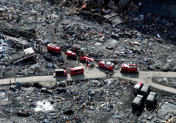 A Richter-skála szerint 9-es erősségű földrengés Japán történetének legerősebb és legpusztítóbb földrengése volt.