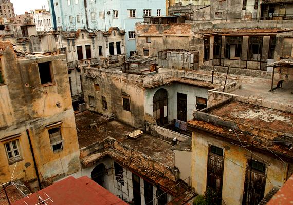 Egy igazi Havanna-lakótelep.