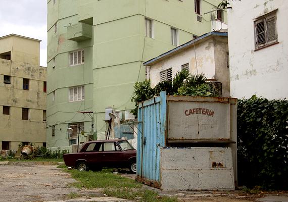 A kubai szocreál stílus az egész városban nyomot hagyott.