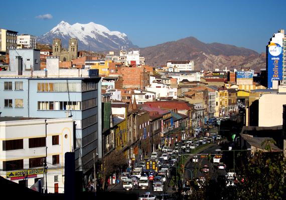 A bolíviai La Paz a legalacsonyabb GDP-vel rendelkezik Dél-Amerikában, melyhez az árak is igazodnak.