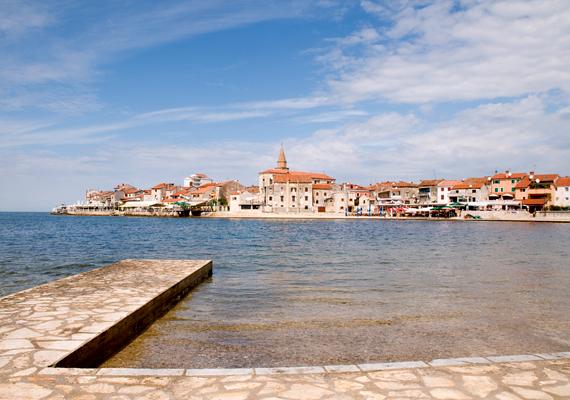 Umag Horvátország egyik legnyugatibb városa, igazi mediterrán úti cél az Isztrián.