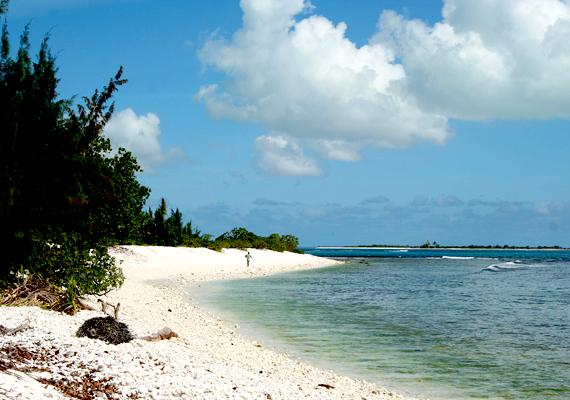 A Kiribati-sziget vagy Karácsony-sziget, mely korallzátonyairól híres, a Csendes-óceánon helyezkedik el, félúton Hawaii és Ausztrália között. A világ legnagyobb természetvédelmi övezetét foglalja magában.