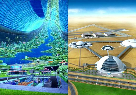Az önfenntartó rendszer akkor is biztosítaná a túlélést annak a néhány embernek, aki feljut rá, ha a Föld lakhatatlanná válna. A Bárkára a tervek szerint űrjárművekkel és űrlifttel is fel lehetne jutni.