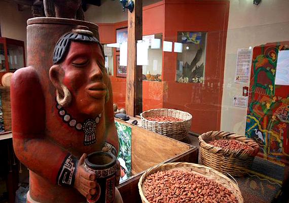 A mexikói San Cristobal de las Casasban található kakaó- és csokimúzeum az édességkészítés helyi hagyományait mutatja be.