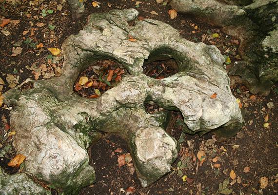 A bükkszentkereszti gyógyító kövek más-más bajra nyújtanak enyhülést. A képen szereplő kő stressz ellen hatásos.