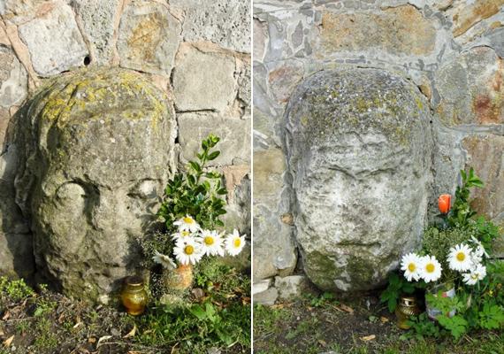 A legenda szerint az esztergomi kőfejek bármilyen betegséget meggyógyítanak, ha az ember megfelelően viselkedik a közelükben.