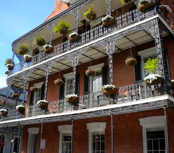 A zene világvárosa, New Orleans már most is a tengerszint alatt fekszik, és folyamatosan süllyed a Mississippi-delta nagymértékű eróziója miatt.