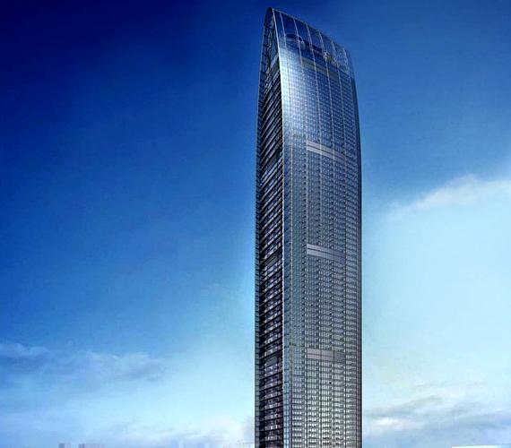 A Kingkey 100 nevű kínai, shenzheni épület 2011-ben készült el, így egyike a világ legfiatalabb felhőkarcolóinak. 442 méter magas.