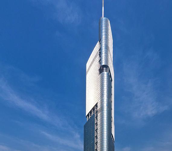 A Nanjing Greenland Pénzügyi Központ 450 méterével Kína egyik legmagasabb épületévé vált 2010-ben.