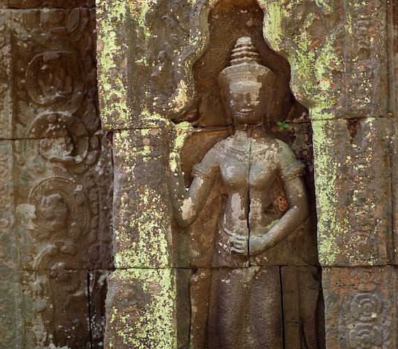 A 9. és 13. század között felépített, hatalmas vallási komplexum száznál is több templomot foglal magában.