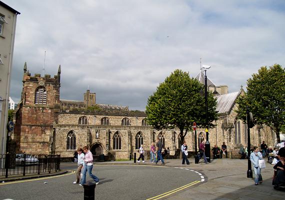 Az angliai Bangor egyetemi város, egyúttal az egyik legkisebb Európában.