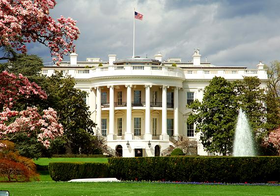 A washingtoni Fehér Ház sokak számára azért kiábrándító, mert csak nagyon kis részét lehet látni a bizonsági előírások miatt.
