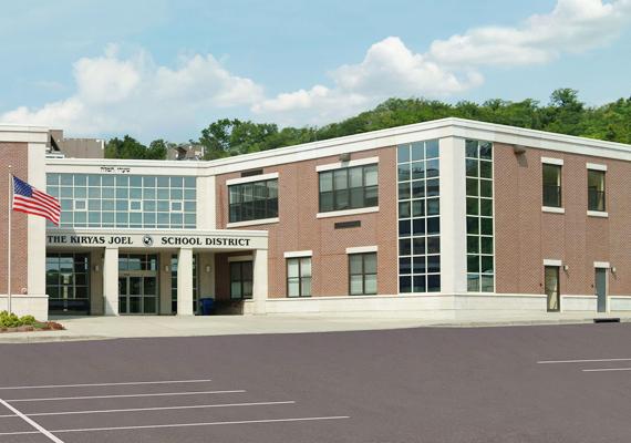 Az új építésű iskolát 2007-ben adták át. A 250 diák itt speciális zsidó oktatásban részesül.